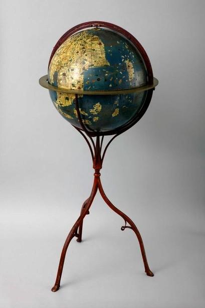 世界最古の地球儀