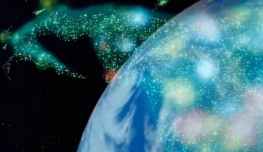 逆襲のシャアの背景で使われた実物の地球儀が話題