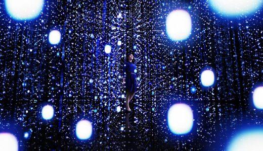 宇宙を表現した幻想的な空間を銀座に創りだすチームラボ