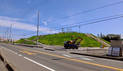 津波対策で袋井市湊の命山に全国の自治体が注目