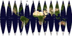 舟型多円錐図法