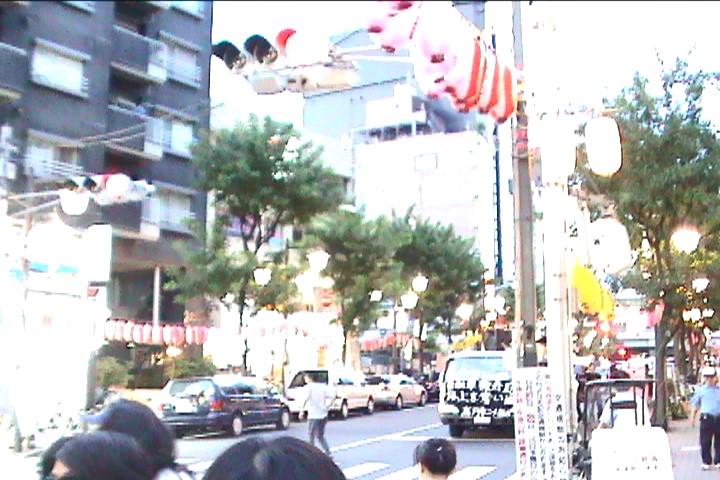 2005年当時のデモ行進